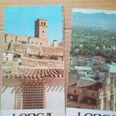 Folletos de turismo: ANTIGUOS FOLLETOS TURÍSTICOS LORCA AÑOS 70. Lote 90470249