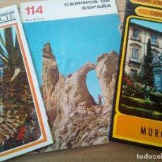 Folletos de turismo: ANTIGUOS FOLLETOS TURÍSTICOS MURCIA AÑOS 60- 70. Lote 90470559
