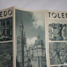 Folletos de turismo: FOLLETO TURISMO TOLEDO AÑOS 50. Lote 90557345
