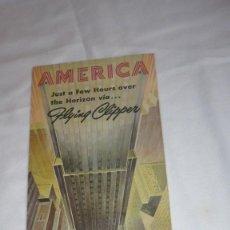 Folletos de turismo: FOLLETO PAN AMERICAN AÑOS 50/60. Lote 90568460