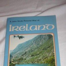Folletos de turismo: FOLLETO TURISMO IRLANDA AÑOS 50/60. Lote 90571340