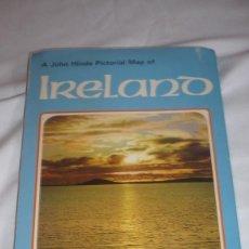 Folletos de turismo: FOLLETO TURISMO IRLANDA DEL N. AÑOS 50/60. Lote 90572165
