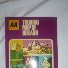 Folletos de turismo: FOLLETO-MAPA TURISMO IRLANDA AÑOS 50/60. Lote 90573270