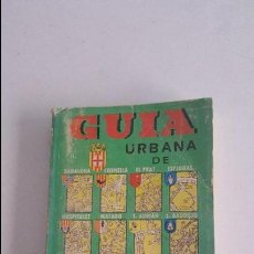 Folletos de turismo: GUIA URBANA BARCELONA 1971. Lote 91014160