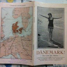 Folletos de turismo: DÄNEMARK! DAS LAND DES MEERES. 1930 - DINAMARCA. Lote 92070765