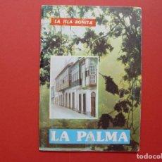 Folletos de turismo: FOLLETO TURÍSTICO: LA PALMA (LA ISLA BONITA, 1981) ORIGINAL ¡COLECCIONISTA!. Lote 92745755