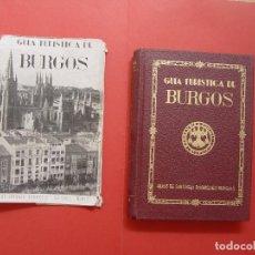 Folletos de turismo: GUÍA TURÍSTICA DE BURGOS (MARTÍNEZ BURGOS, 1955) ORIGINAL ¡COLECCIONISTA!. Lote 92759550