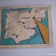 Folletos de turismo: FOLLETO PUBLICITARIO DE TURISMO, HOTEL UNIVERSO, ZARAGOZA, AÑOS 20-30. Lote 93862645