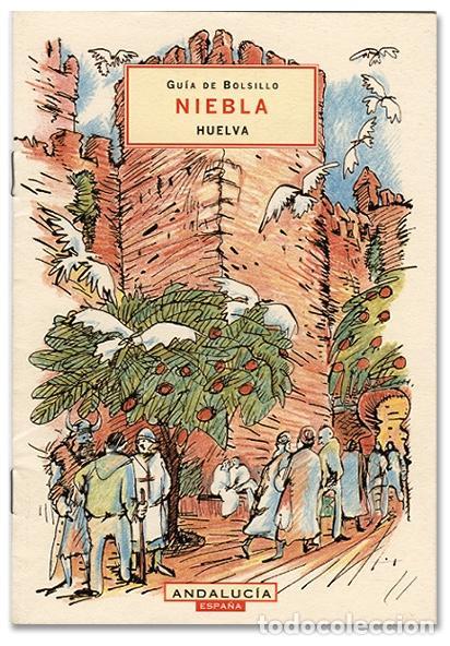 LIBRITO NIEBLA – HUELVA. DISEÑO MARINÉ/BOYER (1999) (Coleccionismo - Folletos de Turismo)
