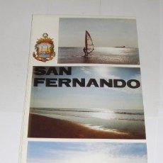 Folletos de turismo: MAPA DESPLEGABLE DE SAN FERNANDO.. Lote 94560479