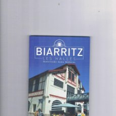Folletos de turismo: FOLLETO TURISMO BIARRITZ LIBRETO 100 PAGINAS. Lote 95076719