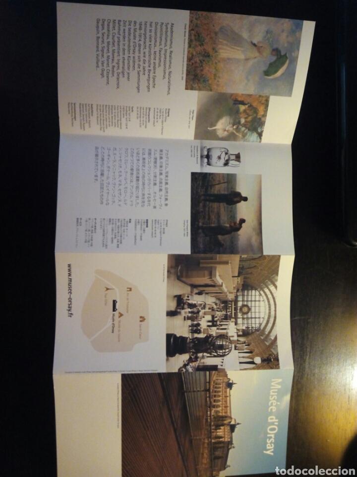 MUSEO DE ORSAY. FOLLETO (Coleccionismo - Folletos de Turismo)