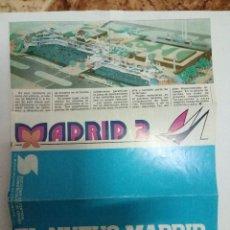 Folletos de turismo: FOLLETO MADRID 2 - AÑOS 80 - PRINCIPIOS CENTRO COMERCIAL LA VAGUADA. Lote 95201251