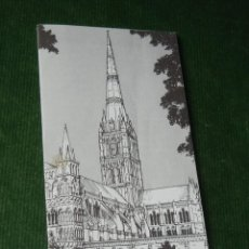Folletos de turismo: FOLLETO CATEDRAL DE SALISBURY - AÑOS 1990S. Lote 95810631