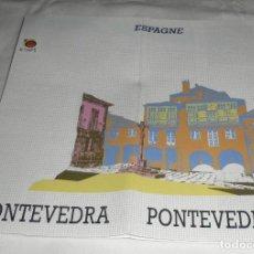 Folletos de turismo: FOLLETO DE PONTEVEDRA EN FRANCES CONTIENE MAPA. Lote 95908967