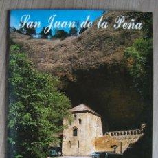 Folletos de turismo: GUIA LIBRITO, FOLLETO MONASTERIO SAN JAUN DE LA PEÑA, ZARAGOZA. Lote 96034451