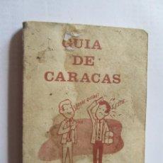 Folletos de turismo: GUIA DE CARACAS, NO PREGUNTE.. Lote 96559131