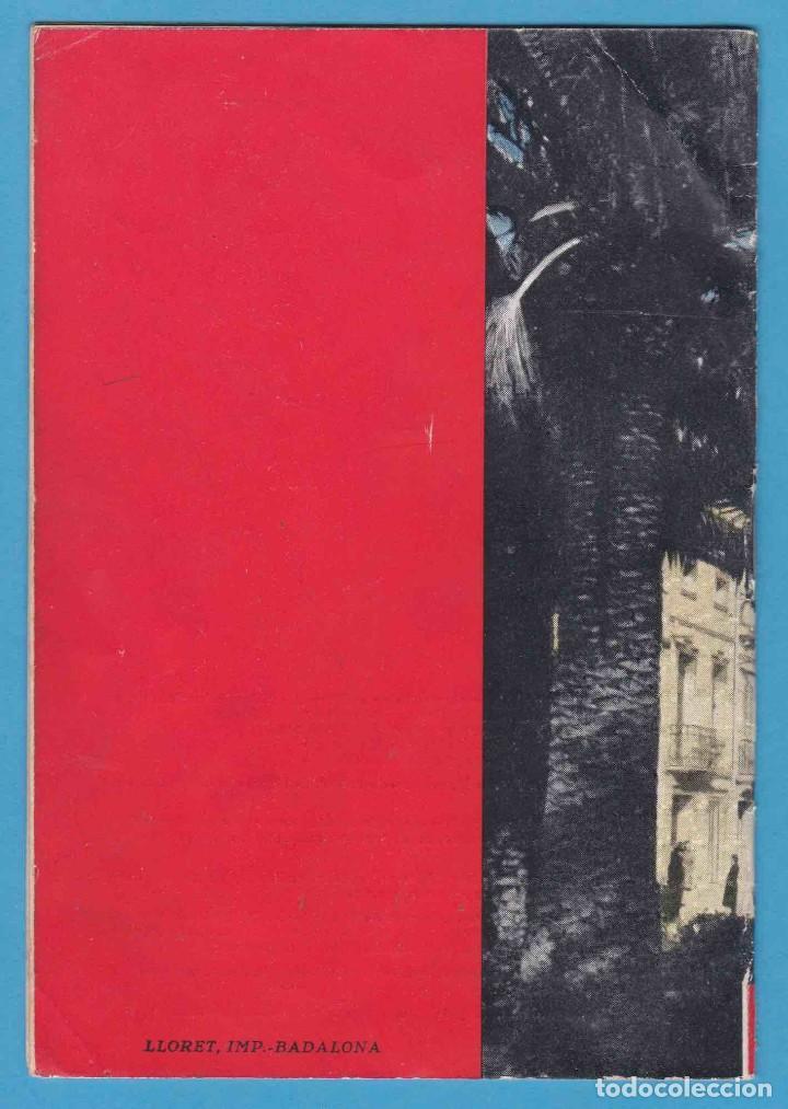 Folletos de turismo: BADALONA. FIESTA MAYOR 1947. FOLLETO CON PROGRAMACIÓN - Foto 2 - 96694315
