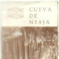 Brochures de tourisme: FOLLETO TURISTICO CUEVA DE NERJA. MALAGA A-FOTUR-1052. Lote 97660215