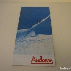 Folletos de turismo: PLANO DE ANDORRA. Lote 97823471