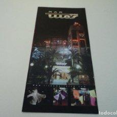 Folletos de turismo: TRIPTICO DE SALA DE FIESTAS TITOS DE PALMA. Lote 132454669