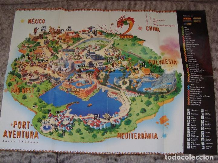 Mapa Port Aventura 2019.Guia Mapa Port Aventura 1995 Sold Through Direct Sale