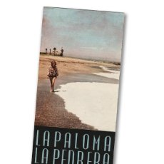 Folletos de turismo: LA PALOMA Y LA PEDRERA (URUGUAY, AÑOS 1930). ANTIGUO FOLLETO TURÍSTICO. Lote 98593459