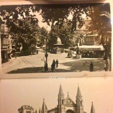Folletos de turismo: ANTIGUO RECUERDO PALMA DE MALLORCA. DESPLEGABLE 10 FOTOS ARTÍSTICAS. SERIE B. GRÁFICAS GUILERA BCN. Lote 98889126