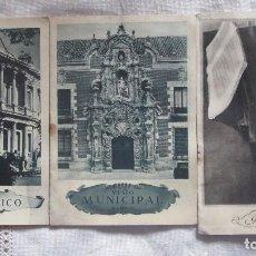 Folletos de turismo: ANTIGUAS GUÍAS BREVES DEL MUSEO ARQUEOLÓGICO, MUNICIPAL Y ROMÁNTICO DE MADRID. Lote 99162447