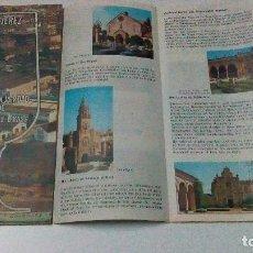 Folletos de turismo: FOLLETO DE JEREZ PATROCINADO POR GONZÁLEZ BYASS EDITADO EN INGLÉS, DEL AÑO 1975. Lote 99184383