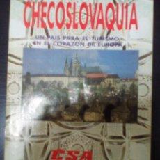 Folletos de turismo: CHECOSLOVAQUIA, TURISMO EN 1992. Lote 99315411