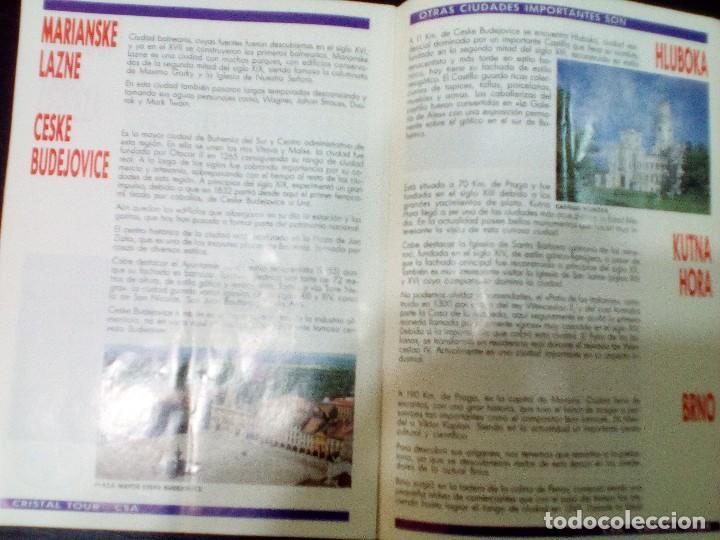 Folletos de turismo: CHECOSLOVAQUIA, TURISMO EN 1992 - Foto 3 - 99315411