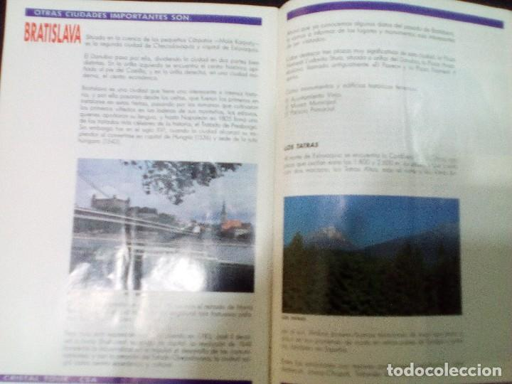 Folletos de turismo: CHECOSLOVAQUIA, TURISMO EN 1992 - Foto 4 - 99315411