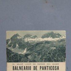 Folletos de turismo: FOLLETO. BALNEARIO DE PANTICOSA. 1935. Lote 99392835