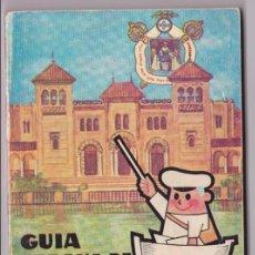 Folletos de turismo: GUIA URBANA DE SEVILLA. 1965 ILUSTRADA PUBLICIDAD ÉPOCA.. CON PLANO DESPLEGABLE.. Lote 99398331