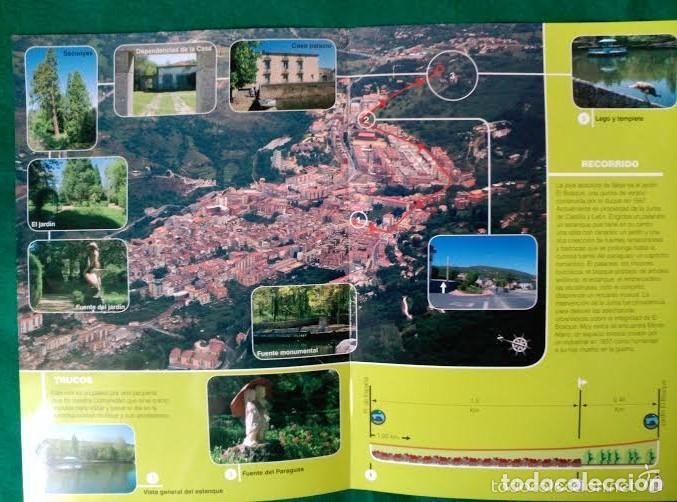 Folletos de turismo: 4 DIPTICOS CON LUGARES DE INTERES EN SALAMANCA - BEJAR - BATUECAS - CALZADA ROMANA - EL FUERTE - Foto 3 - 100025455