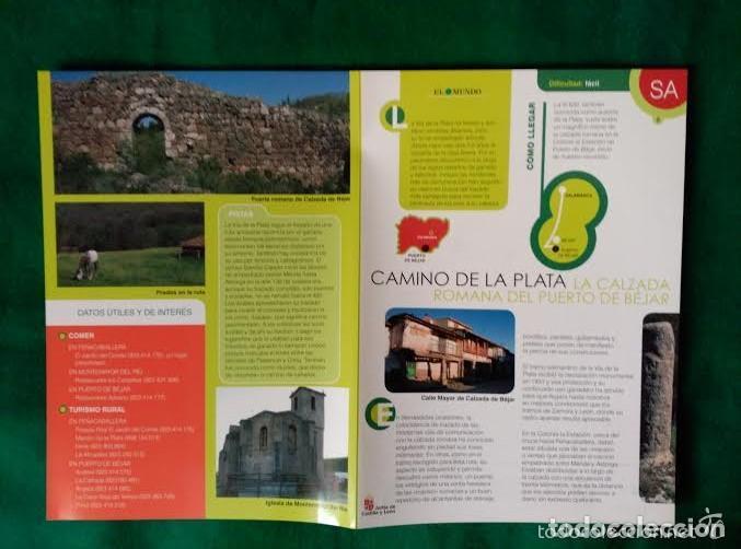 Folletos de turismo: 4 DIPTICOS CON LUGARES DE INTERES EN SALAMANCA - BEJAR - BATUECAS - CALZADA ROMANA - EL FUERTE - Foto 4 - 100025455