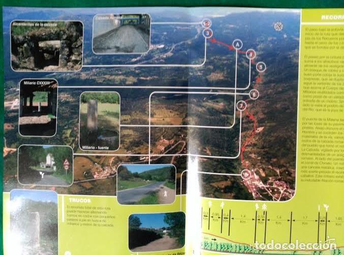 Folletos de turismo: 4 DIPTICOS CON LUGARES DE INTERES EN SALAMANCA - BEJAR - BATUECAS - CALZADA ROMANA - EL FUERTE - Foto 5 - 100025455