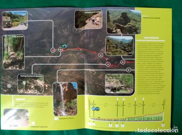Folletos de turismo: 4 DIPTICOS CON LUGARES DE INTERES EN SALAMANCA - BEJAR - BATUECAS - CALZADA ROMANA - EL FUERTE - Foto 7 - 100025455