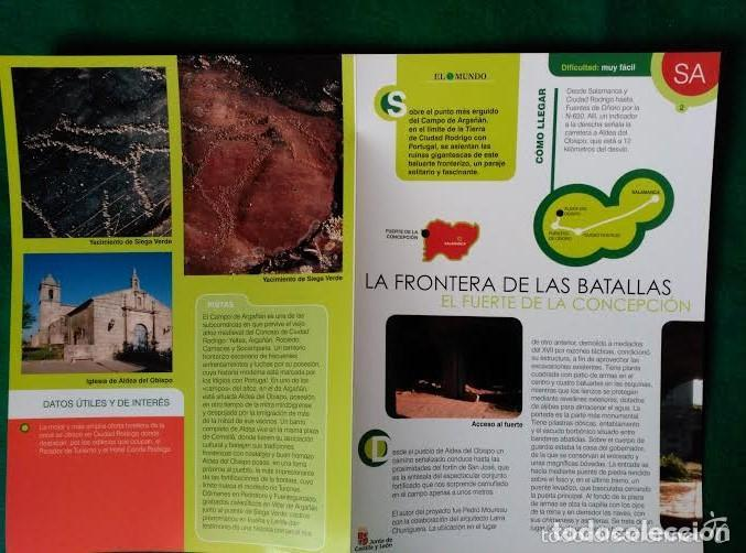Folletos de turismo: 4 DIPTICOS CON LUGARES DE INTERES EN SALAMANCA - BEJAR - BATUECAS - CALZADA ROMANA - EL FUERTE - Foto 8 - 100025455