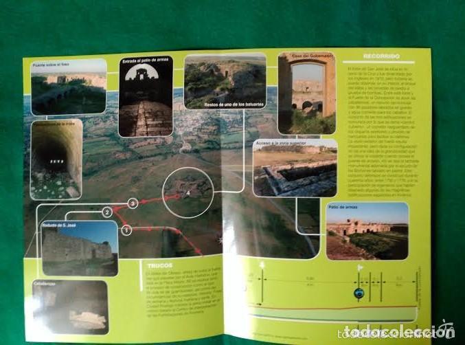Folletos de turismo: 4 DIPTICOS CON LUGARES DE INTERES EN SALAMANCA - BEJAR - BATUECAS - CALZADA ROMANA - EL FUERTE - Foto 9 - 100025455