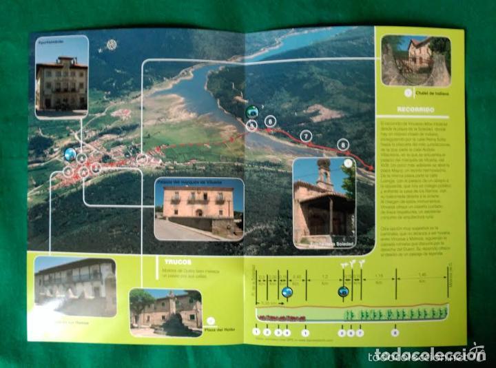 Folletos de turismo: 3 DIPTICOS CON LUGARES DE INTERES EN LA PROVINCIA DE SORIA - MEDINACELI - VINUESA - CAÑON RIO LOBOS - Foto 2 - 100027123
