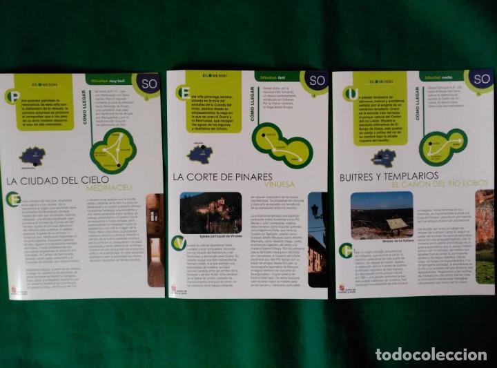 Folletos de turismo: 3 DIPTICOS CON LUGARES DE INTERES EN LA PROVINCIA DE SORIA - MEDINACELI - VINUESA - CAÑON RIO LOBOS - Foto 8 - 100027123