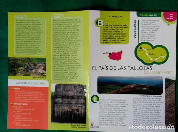 Folletos de turismo: 3 DIPTICOS CON LUGARES DE INTERES EN LA PROVINCIA DE LEON - LOS ANCARES - RIOCAMBA - LAS MEDULAS - Foto 6 - 100027367