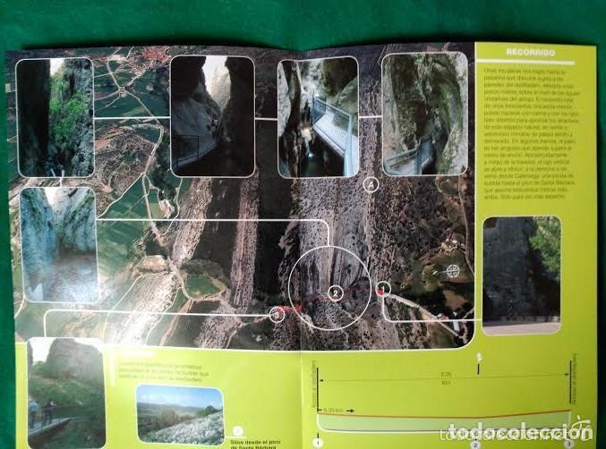 Folletos de turismo: 3 DIPTICOS CON LUGARES DE INTERES EN LA PROVINCIA DE BURGOS - NEILA - YECLA - CASCADA DE LAS PISAS - Foto 3 - 100027571