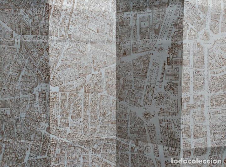 Folletos de turismo: PLANO MONUMENTAL DE LA CIUDAD DE MADRID - Foto 4 - 100032639