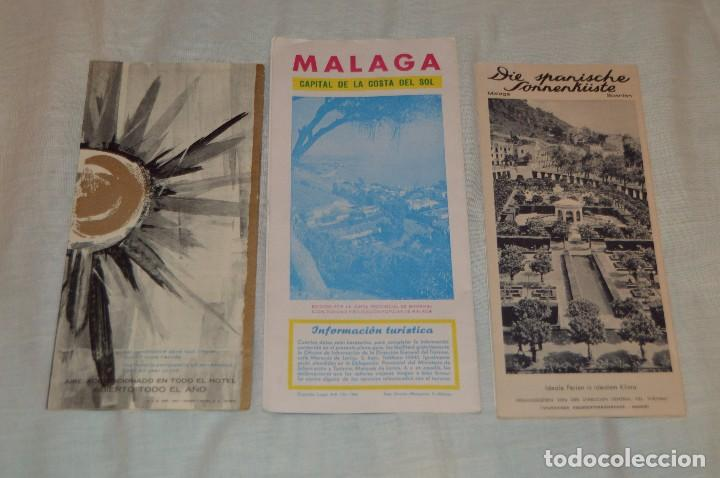 Folletos de turismo: LOTE DE 7 FOLLETOS PUBLICITARIOS / TURISMO DE MÁLAGA - FESTIVALES, PLANOS - AÑOS 50/ 60 - HAZ OFERTA - Foto 5 - 101571799
