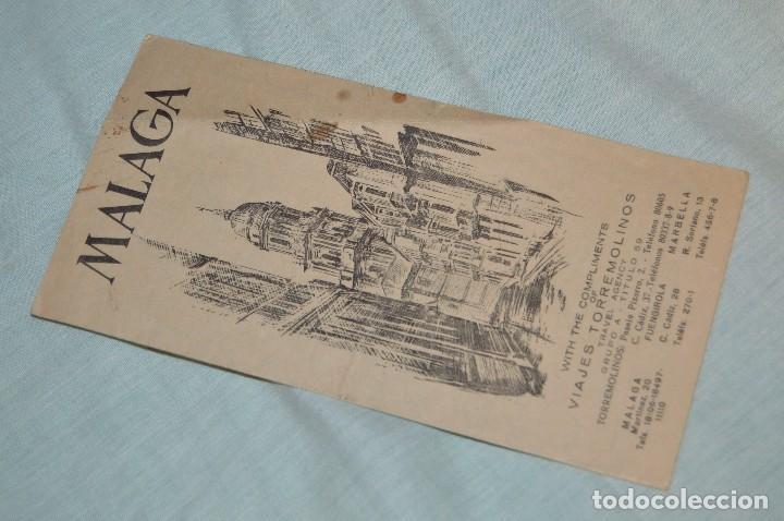 Folletos de turismo: LOTE DE 7 FOLLETOS PUBLICITARIOS / TURISMO DE MÁLAGA - FESTIVALES, PLANOS - AÑOS 50/ 60 - HAZ OFERTA - Foto 6 - 101571799