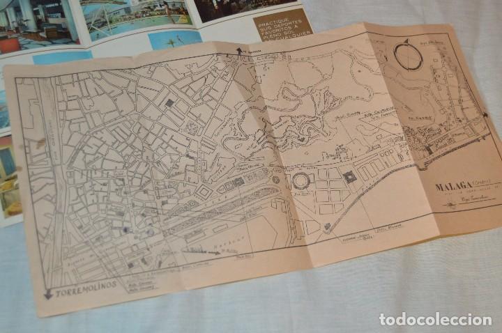 Folletos de turismo: LOTE DE 7 FOLLETOS PUBLICITARIOS / TURISMO DE MÁLAGA - FESTIVALES, PLANOS - AÑOS 50/ 60 - HAZ OFERTA - Foto 8 - 101571799