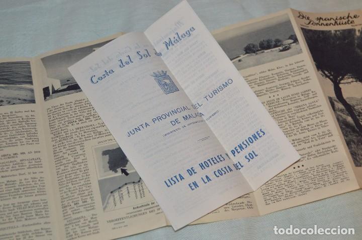 Folletos de turismo: LOTE DE 7 FOLLETOS PUBLICITARIOS / TURISMO DE MÁLAGA - FESTIVALES, PLANOS - AÑOS 50/ 60 - HAZ OFERTA - Foto 11 - 101571799